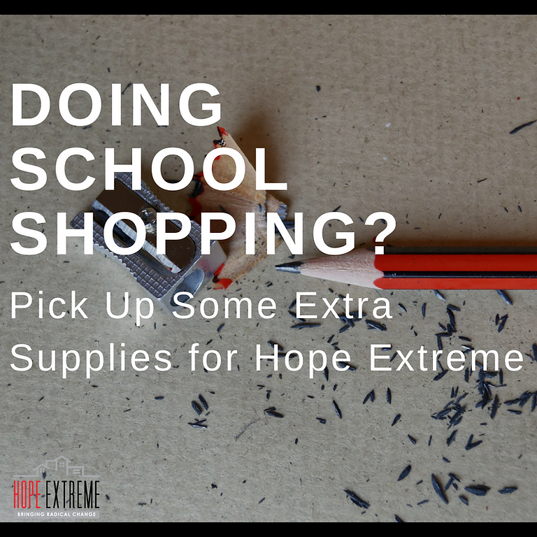Supplies for Hope