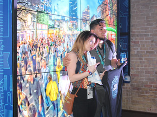 Bud Light Interactive Swag Wall at SXSW