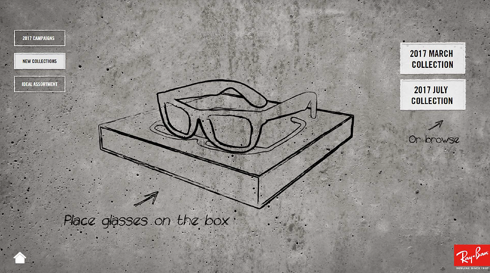 Float Ray Ban RFID Table