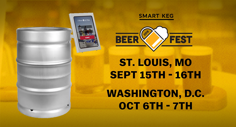 Anheuser Busch Smart Keg Beer Love Fest