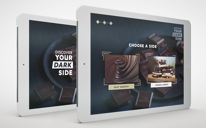 FLOAT IQ Ghirardelli Chocolate Discover you dark side