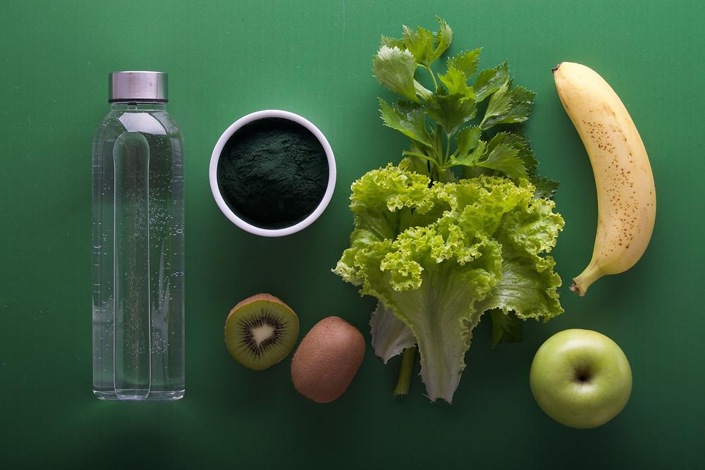 gesunde Smoothies und tolles Essen kann fotografiert werden - das lohnt sich auch in der Spreewald-Therme