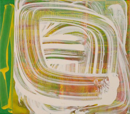 """Movement Seen""  15 x 17 in. original acrylic on canvas."