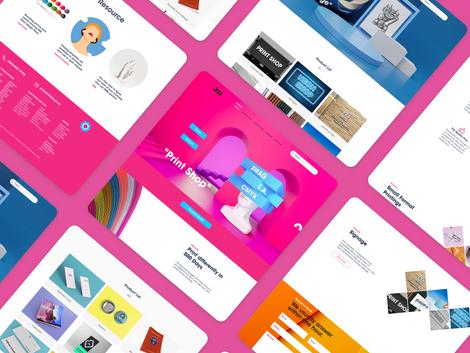 500 Days Print Web Design
