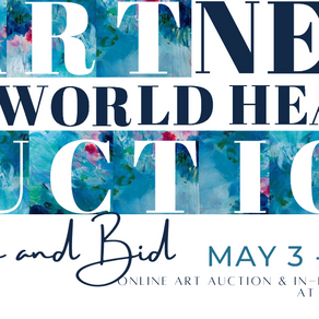 Partners for World Health Art Auction May 3 - 7, 2021