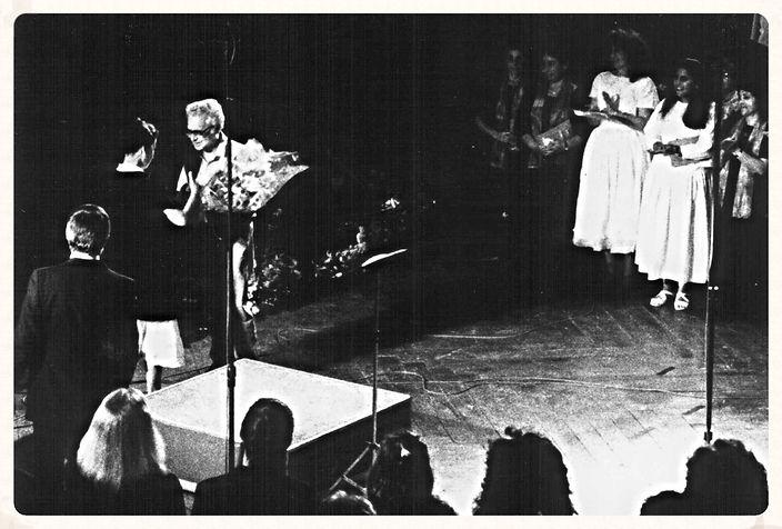 """Piyutim"" premiered in Jerusalem, 1988"