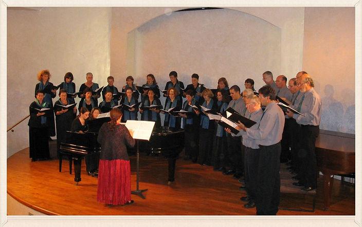 """The Meggido Regional Choir singing """"Poems of Jerusalem"""" - Tel Aviv, 2004"""