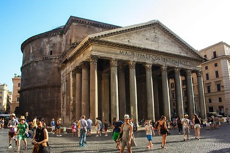 ellie bell photography, rome, italy, summer, architecture, pantheon, italian