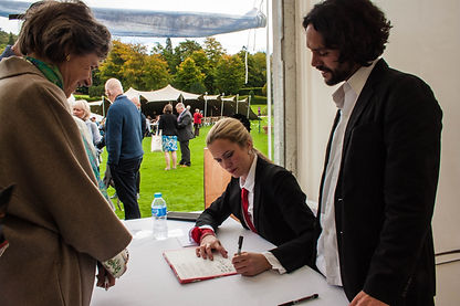 ellie bell photography, chatsworth, art festival, artists, art out loud festival, derbyshire, countryside, duchess of devonshire, book signing