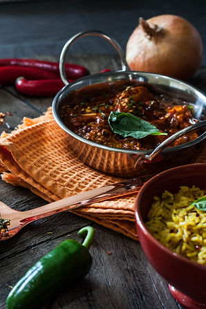 ellie bell photography, food photography, indian, curry, chilli, rice, onion, tikka masala