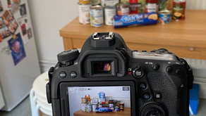 PART IV: TEST SHOOTING STILL-LIFE FROM HOME