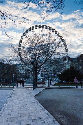 ellie bell photography, travel, budapest, hungary, europe, travel photography, winter, ferris wheel