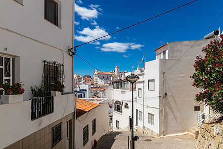 ellie bell photography, albufeira, portugal, algarve, coast, town, portugese, europe, summer, architecture