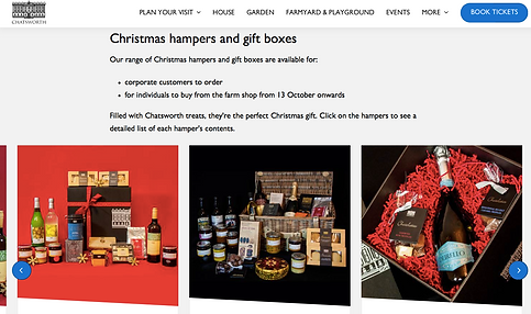 ellie bell photography, chatsworth, hampers, product photography