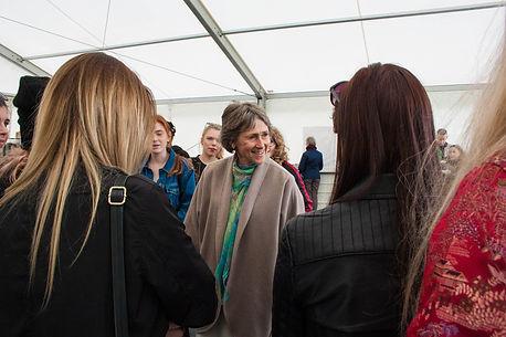 ellie bell photography, chatsworth, duchess, duchess of devonshire, derbyshire, art out loud festival