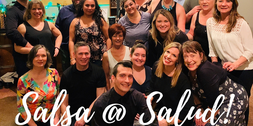 """Dance Lessons With Daniel - """"Salsa @ Salud!"""""""