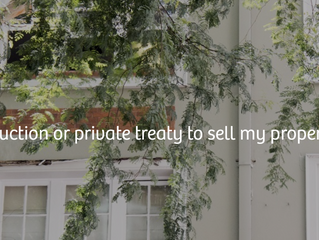 Should I use auction or private treaty to sell my property this spring?