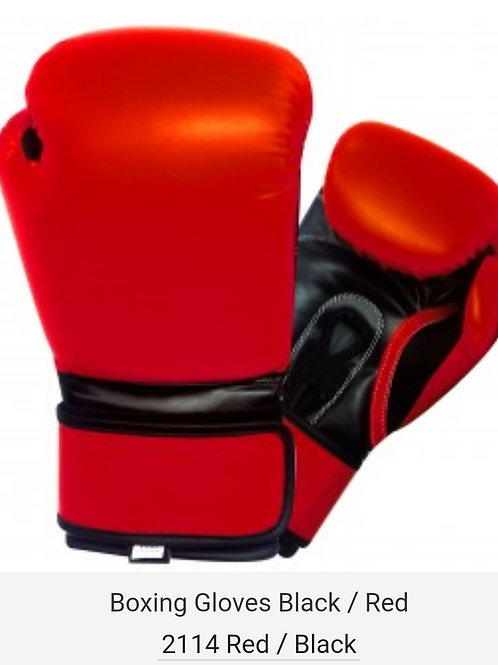 New Red Boxing Gloves HOT