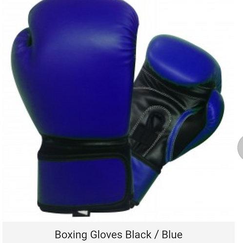 New Blue/Black Gloves