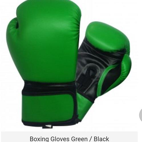 Green/Black  Boxing Gloves