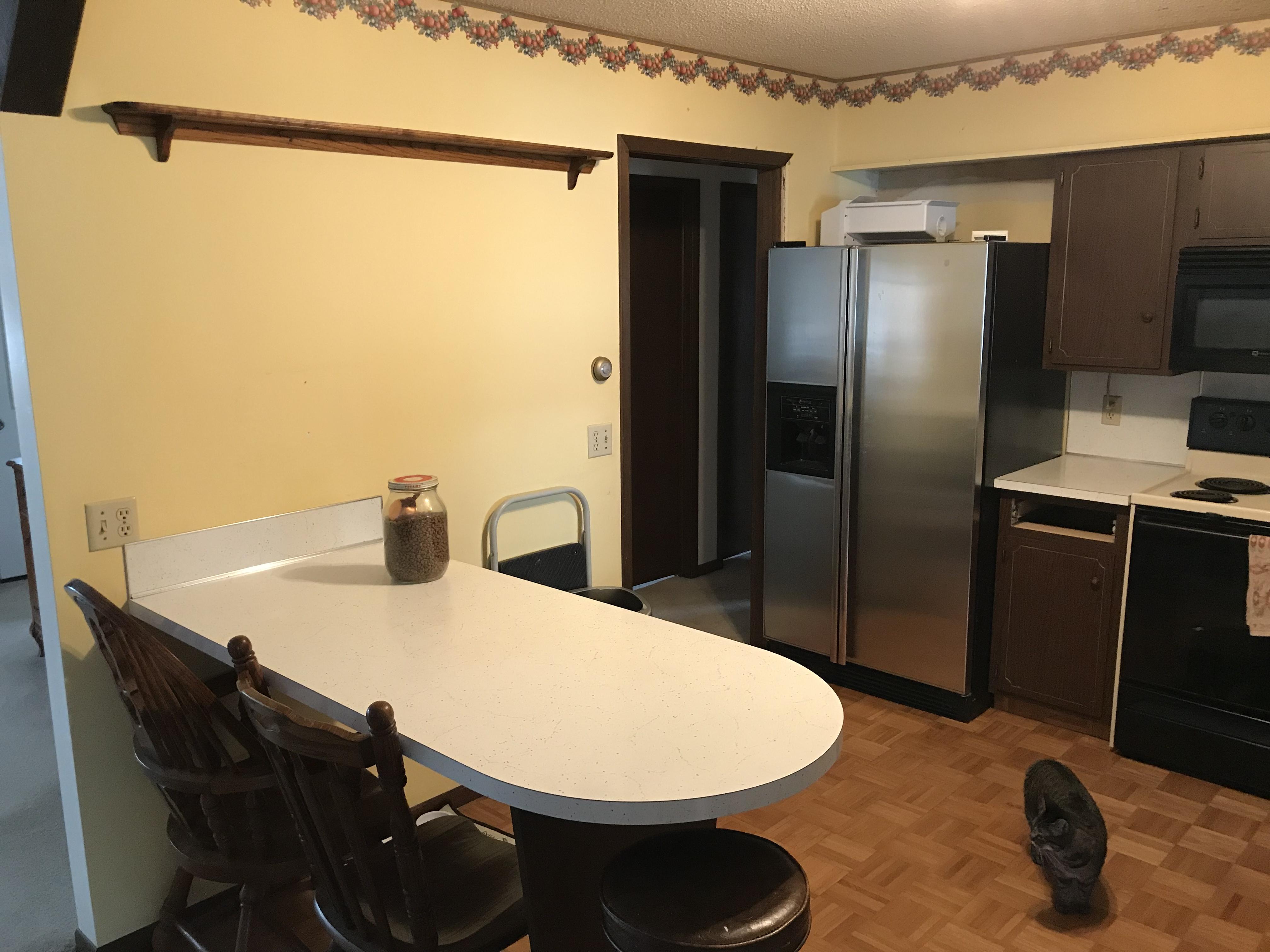 Two-Tone Contemporary Kitchen