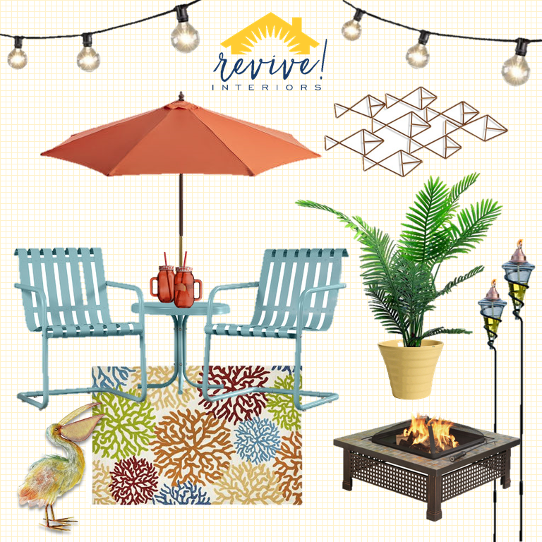 Bright + Beachy Patio