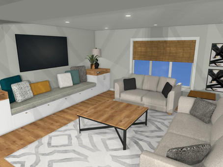 Revive @ Home: Living Room Design