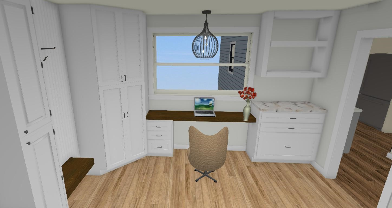 Mudroom + Office Addition