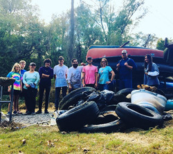 Mayo and Dan River cleanup 10/12/19