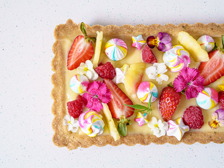 Pineapple Meringue Tart