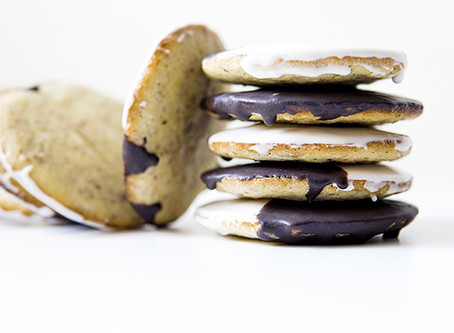 Better Black and White Cookies