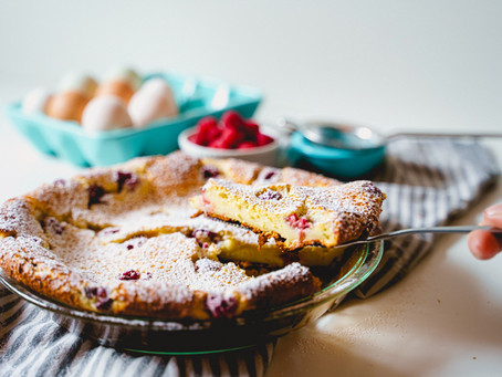 Julia Child's Cherry Clafoutis