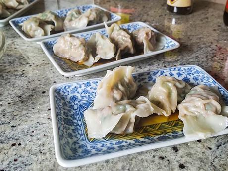 Chinese Dumplings with Mama Wong