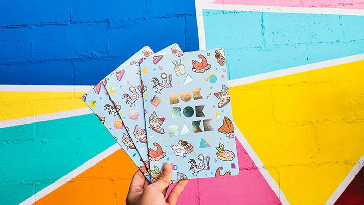 cute illustrated notebooks