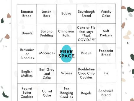 Stress Baking Bingo for Instagram Story