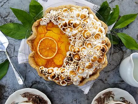 Seville Orange Marmalade Pie