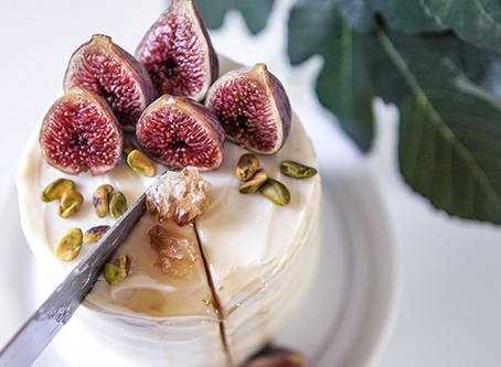 Honey Earl Grey Fig Cake