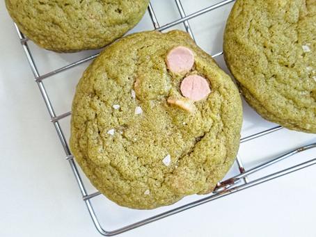 Matcha Ruby Cookies