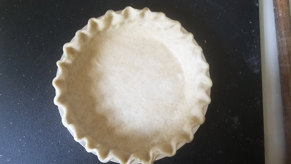 frozen pie crust