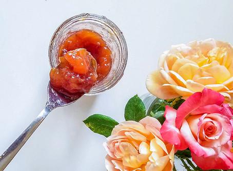 Peach Rose Petal Jam