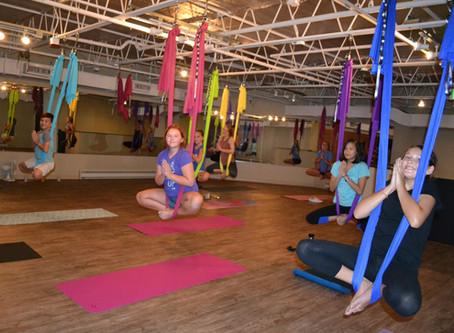"""""""Tweens & Teens Back-to-School  Aerial Yoga Workshop"""""""