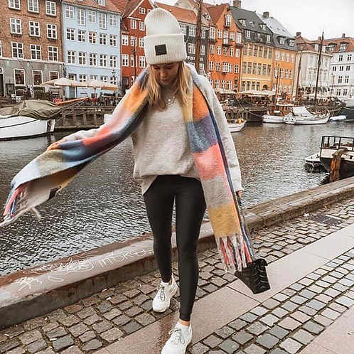 chunky long scarf