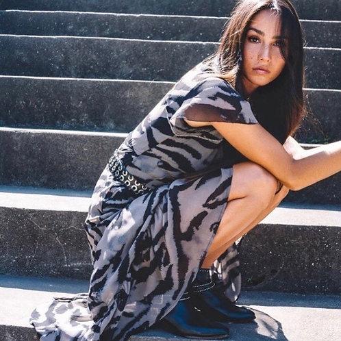 Vigorious print dress