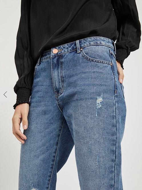 Vila regular fit cropped jeans