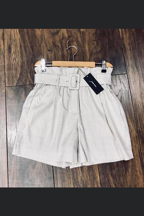 Pin stripe shorts