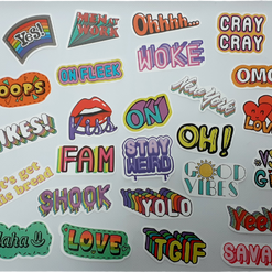 CHOOSE YOUR OWN STICKERS