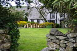 Coniston pub with garden