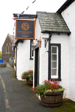 At the heart of Torver village