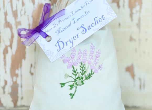 Natural Lavender Dryer Sachet