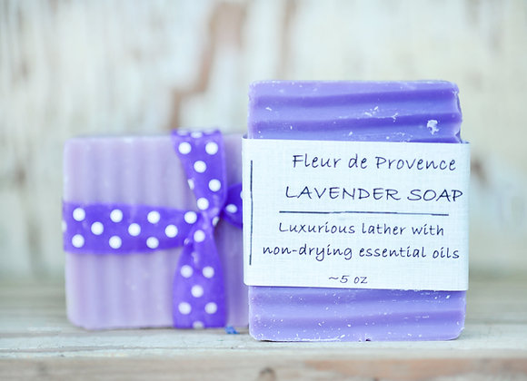 Luscious Lavender Body Bar Soap